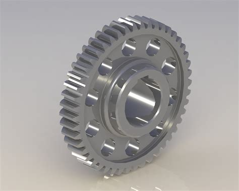 Tooth gear 3D | CGTrader