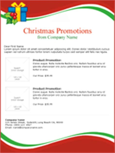 christmas program template email promotions benchmark email