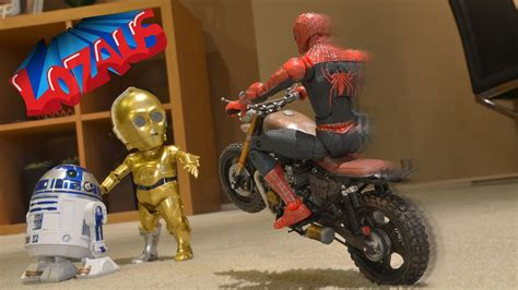 Spiderman Stop Motion Action Video Part 14 Trailer