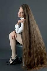 Very long hair fetish