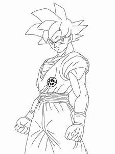 Dragon Ball Z Battle Of Gods Super Saiyan God Drawing