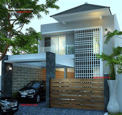 desain rumah kost  lantai minimalis  home modern