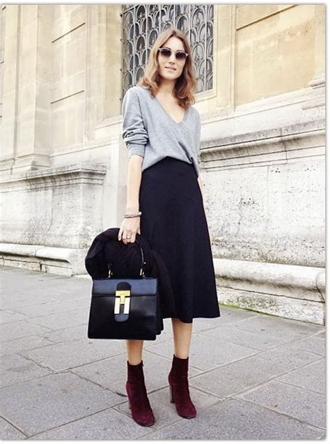 ladies edgy work outfits  winter  fashiongumcom