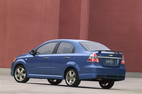 2007 Chevrolet Aveo Pictures, History, Value, Research