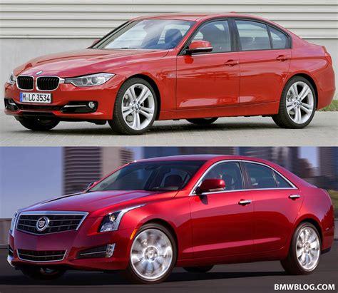 Cadillac Ats Vs Bmw 335i by Review Cadillac Ats 3 6 Vs Bmw 335i Vs Mercedes