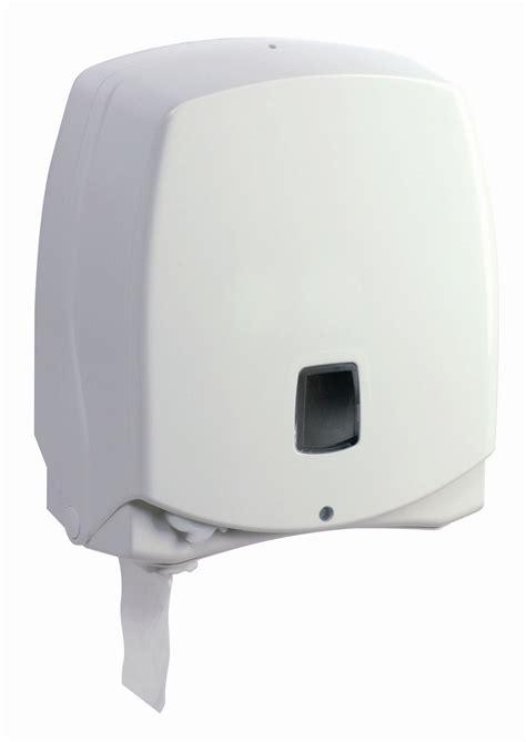 distributeur papier toilette automatique rossignol 200m blanc edissor