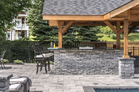 unilock brewster shade structures for outdoor kitchens in brewster ny