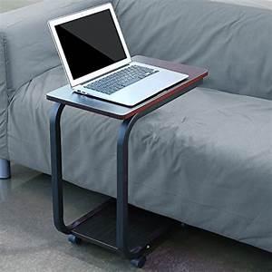 Tisch Für Bett : homfa laptoptisch u form notebook tisch pc tisch notebook sofatisch laptopst nder ~ Yasmunasinghe.com Haus und Dekorationen