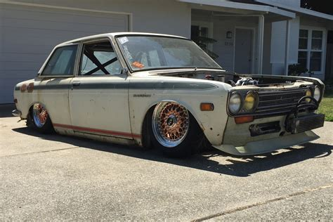 Datsun 510 Build by Bagged Dropped Rotary Powered Datsun 510 Build