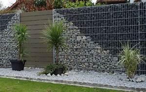 Mur En Gabion : achat de mur gabion en pierre d corative bassin d 39 arcachon ~ Premium-room.com Idées de Décoration