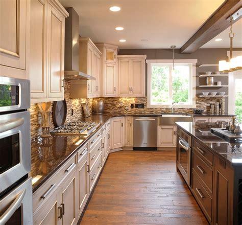traditional kitchen paint colors 欧式开放式厨房装修效果图大全 土巴兔装修效果图 6336