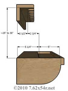 vertical wood gun rack plans woodworking projects plans