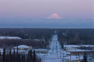 Mt. Redoubt From Soldotna Alaska