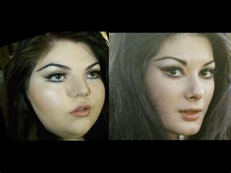 playing dress  edwige fenech inspired makeup tutorial youtube