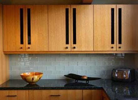 Contemporary Kitchen Backsplash   Contemporary   Kitchen