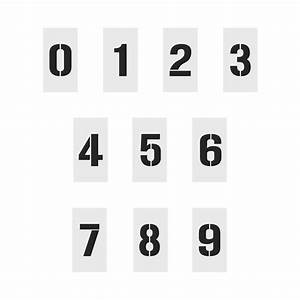 number set stencil stencils australia With stencil sets numbers letters