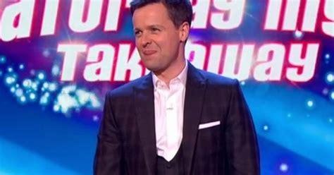 Declan Donnelly set to 'host Britain's Got Talent alone ...
