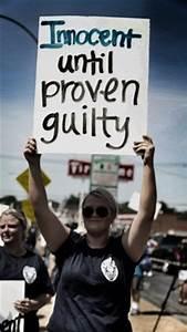Supporters of Darren Wilson says that Wilson is innocent ...
