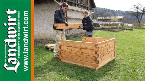 hochbeet selber bauen bauanleitung pdf hochbeet selber bauen landwirt