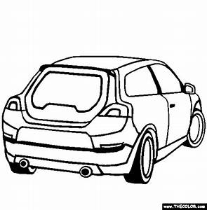 cars online coloring pages page 1 With clic volvo sports car