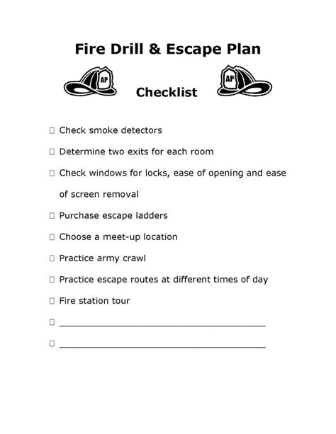 printable fire escape plan 12 best images about emergency procedures on home image search and