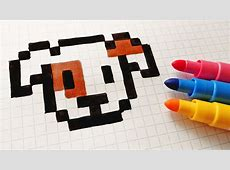 Pixel Art Puppy Easy Draw 5