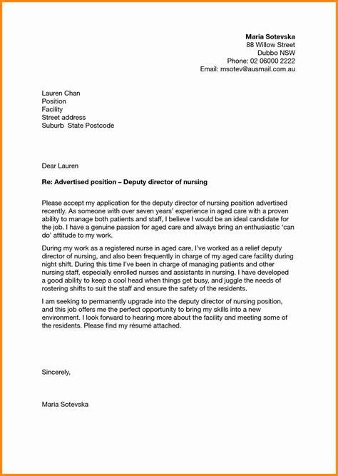 5 application letter for nursing school admission