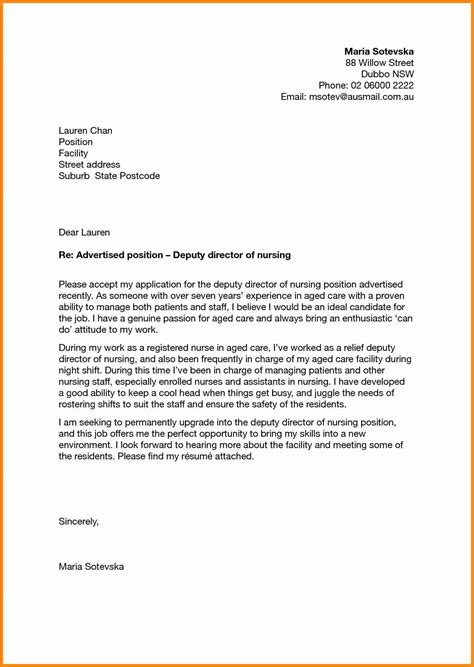 Nursing School Application Resume by 5 Application Letter For Nursing School Admission Driver Resume