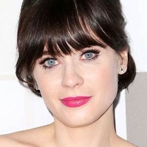 Zooey Deschanel?s Shimmery Shadow - Look Fab! New Year's ...
