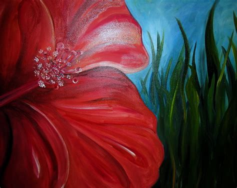 Gumamela Painting By Pristine Cartera Turkus
