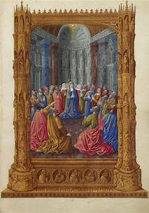 Pentecost, -, Limbourg, Brothers, -, Wikiart, Org