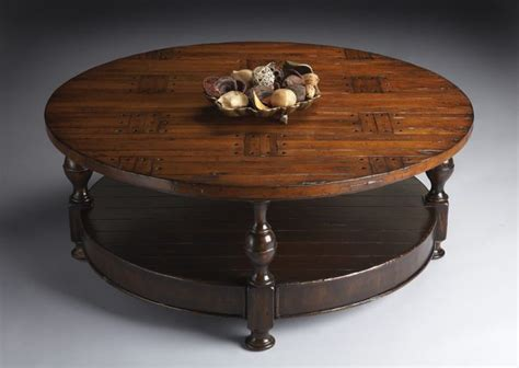 Pretty Coffee Table Round On Solid Wood Round Coffee Table