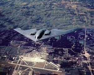 Knob Noster, MO : B-2 Sleath Bomber - Flying over Whiteman ...
