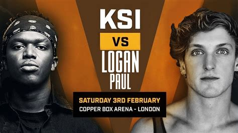 ksi calls  logan paul boxing match youtube
