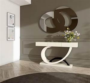 Avantgarde modern tv unit matt gloss finish 17 colour for Modern hall table