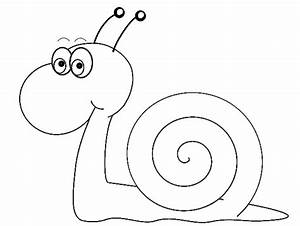 Snail Black And White Clipart - Clipart Suggest