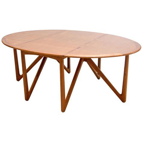 danish modern drop leaf table kurt ostervig for jason mobler danish modern drop leaf