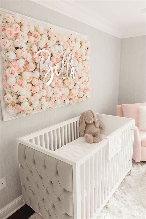 The following dozen diy nursery decor ideas range in complexity from super easy to pretty time consuming. Guess Which Celebrity Nursery Inspired this Gorgeous Space   Baby nursery inspiration, Baby girl ...