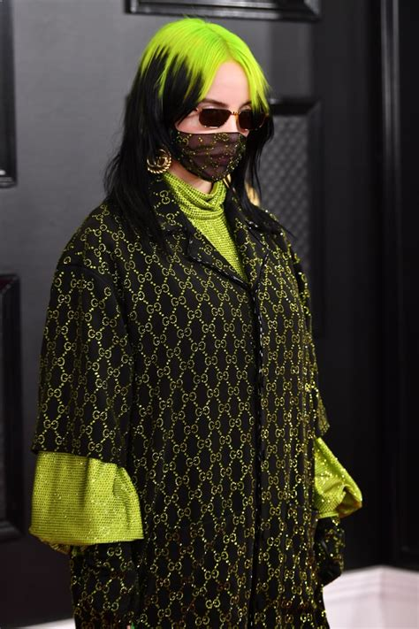 billie eilishs gucci outfit grammys