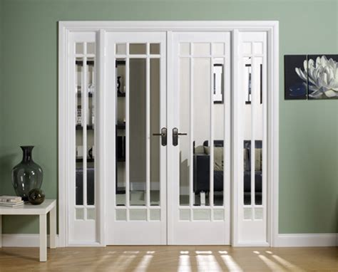 Home Depot Interior Door 4 Panel : Manhattan White Primed Lpd Room Dividers French Doors From