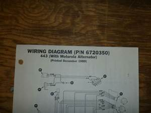 Bobcat 443 Skid Steer Alternator Electrical Wiring Diagram