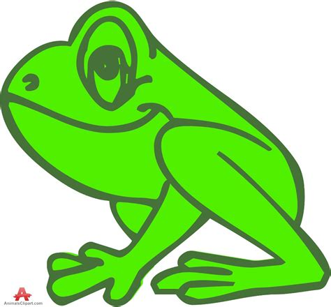 Frog Clip Jumping Frog Clipart Free Collection