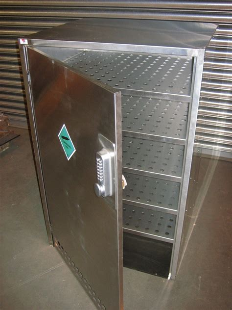 gas can storage cabinet stainless steel gas cylinder cabinet