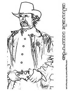 Walker Texas Ranger Coloring Pages Coloring Page