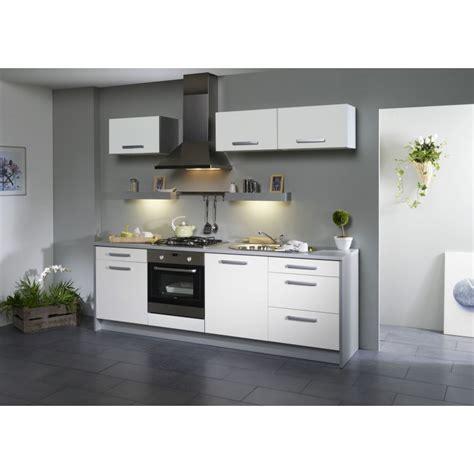 meuble de cuisine pas cher conforama cuisine pas cher 245 cm 4 couleurs cbc meubles