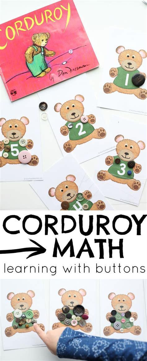 best 25 corduroy activities ideas on 388 | 09204ebca9ce7cdafc4248d58bf13108 preschool math learning activities