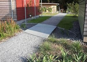 Wege Im Garten Anlegen : kiesweg mit sickergrube ~ Buech-reservation.com Haus und Dekorationen