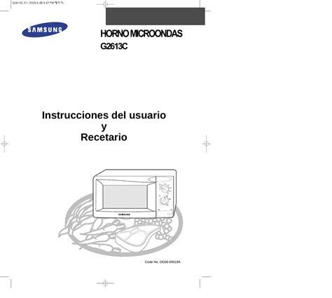 Samsung G2613C Manual de usuario manualzz com