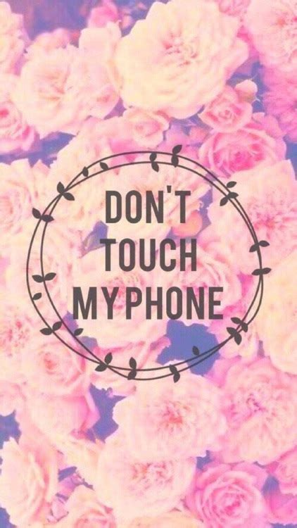 Don't touch my phone hd lock screen features: Lock Screen HD 3D Wallpapers Don't Touch My Phone by Janice Ong