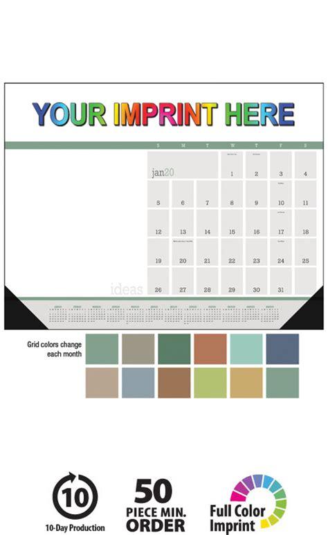 modern desk pad ideas calendar full color deskpad